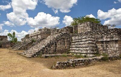 Pozostatky pyramíd, Ek Balam