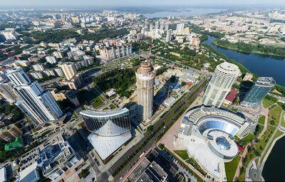 Budovy v Pekingu