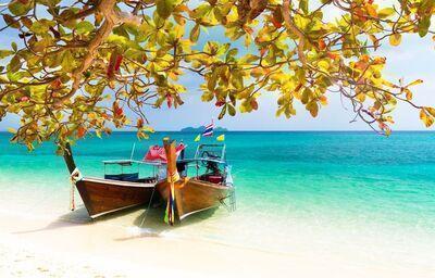 Tradičné thajské lode