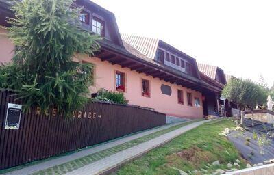 Pohľad na horský hotel Hájenka