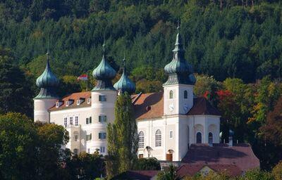 Hrad v meste Artstetten