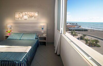 Ubytovanie s výhľadom na more v hoteli Il Settebello