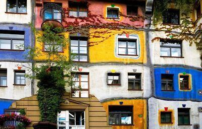 Hundertwasserov dom, Viedeň