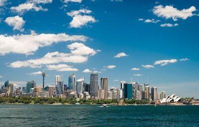Pohľad na Sydney