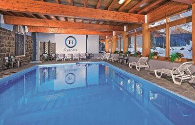 Bazén, hotel Majestic Dolomiti, San Martino di Castrozza