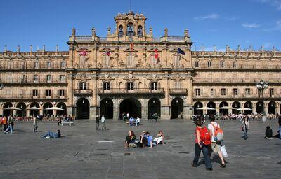 Plaza Mayor, Salamanca, poznávací zájazd, Španielsko