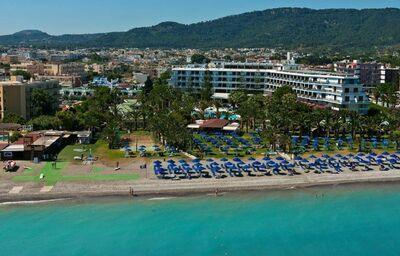 Pohľad na hotel Blue Horizon