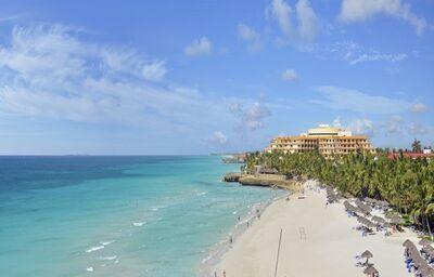 Piesková pláž pred hotelom Meliá Varadero