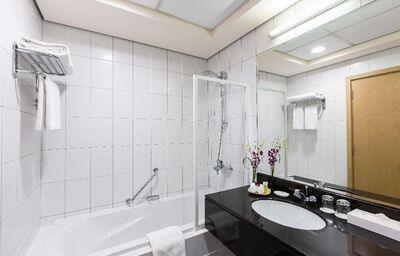 Kúpeľňa v hoteli Arabian Park