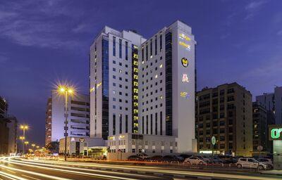 Pohľad na hotel City Max Al Barsha at the Mall