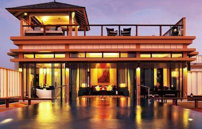 Pohľad na rezort Ansana Resort Spa Velavaru