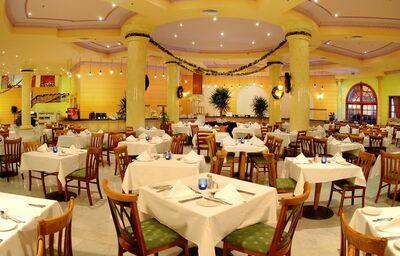 Stolovanie v hoteli Hilton Hurghada Long Beach Resort