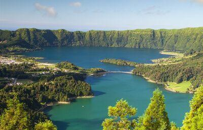 Sete Cidades, ostrov Sao Miguel, Azorské ostrovy, poznávací zájazd, Portugalsko
