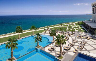 Areál hotela Alea, Skala Prinos, Thassos