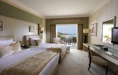 Izba s výhľadom na more v hoteli Sunrise Romance Sahl Hashees Resort