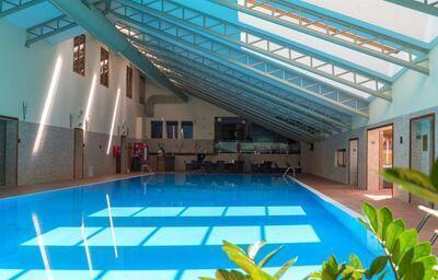 Vnútorný bazén v hoteli Ski & Wellness Residence Družba
