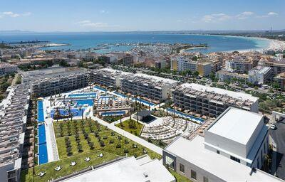 Areál hotela Zafiro Palace Hotel Alcudia
