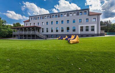 Pohľad na hotel Pod Lipou Resort