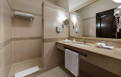 Kúpeľňa v hoteli Jaz Makadi Saraya Resort