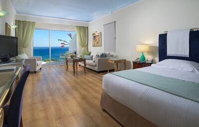Izba s výhľadom na more v hoteli Atrium Platinum