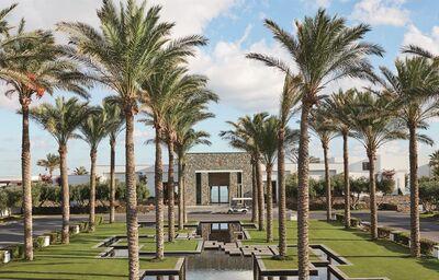 Areál hotela Amirandes Grecotel Exclusive Resort