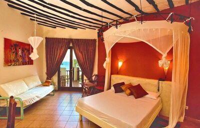 Izba s výhľadom na more v hoteli Voi Kiwengwa Resort