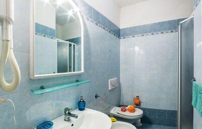 Kúpeľňa v apartmánoch Rezidencia Fenix