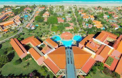 Pohľad z výšky na hotel Be Live Experience Varadero