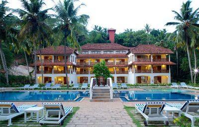 Pohľad na hotel The Travancore Heritage