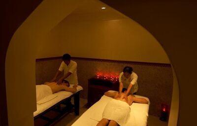 Oddych pri masáži vo wellness centre