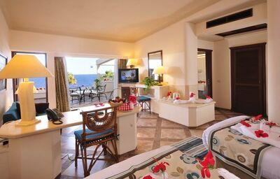 Izba s výhľadom na more v hoteli Albatros Citadel