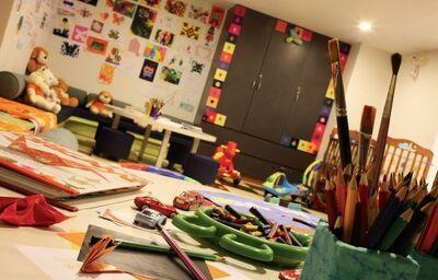 Detský kútik hotela Alila Diwa Goa Deluxe