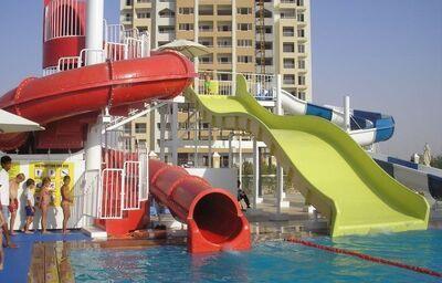 Vodný svet v hoteli Rixos Bab Al Bahr
