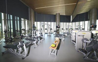 Fitness v hoteli Rixos Premium Dubai