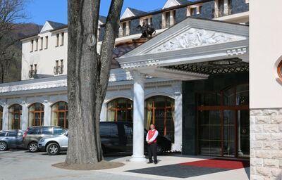 Exteriér, Hotel Aphrodite Palace, Rajecké Teplice