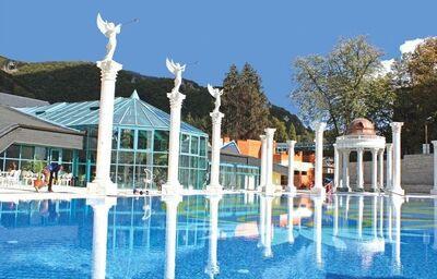 Vonkajší bazén, Hotel Aphrodite, Rajecké Teplice