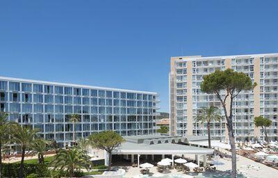 Pohľad na hotel Me Mallorca