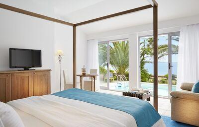Izba s výhľadom na more v hoteli Eagles Palace