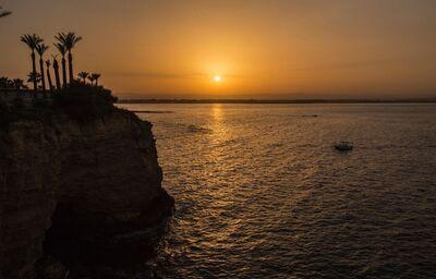 Krásny západ slnka