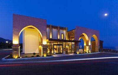 Vchod do hotela Boutique 5 hotel & Spa