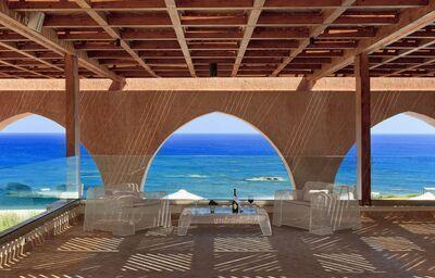 Výhľad z hotela Boutique 5 hotel & Spa na more