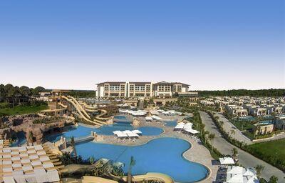 Areál hotela Regnum Carya Golf & Spa
