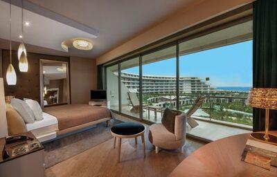 Izba s výhľadom na areál hotela Maxx Royal Belek