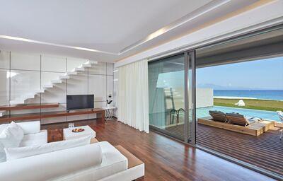 Izba s výhľadom na more v hoteli Lesante Blu Exclusive Beach Resort