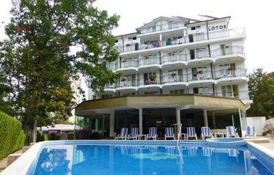 Areál hotela Lotos, Kiten, Bulharsko