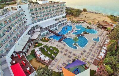 areál hotela Melissi Beach