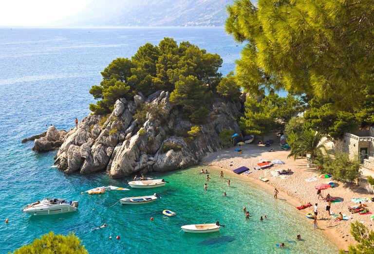 Pláž Bluesun hotel Berulia *****