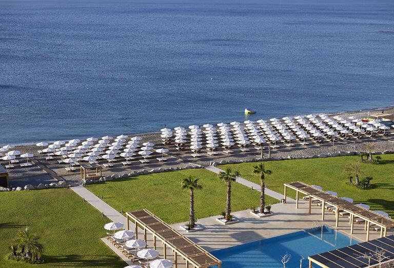 Pláž Hotel Mitsis Alila Exclusive Resort *****+