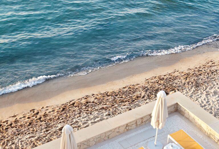 Pláž Hotel Grecotel Lux Me White Palace *****