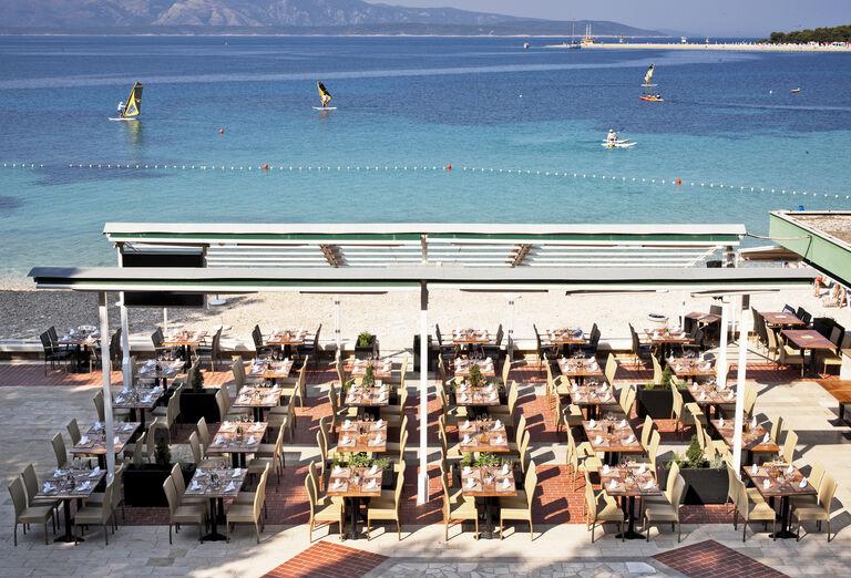 Pláž Bluesun hotel Elaphusa ****+